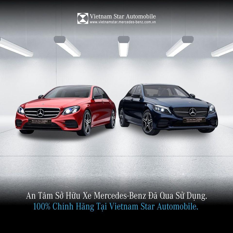 An tâm sở hữu xe Mercedes-Benz đã qua sử dụng tại Vietnam Star Automobile.